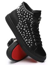 AURELIO GARCIA - Studded Side Mid Sneakers-2606037