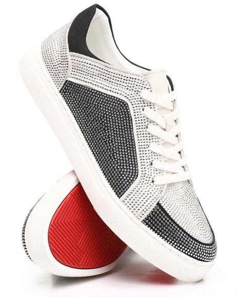 AURELIO GARCIA - Low Top Embellished Sneakers