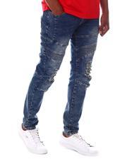 Jeans - Biker Jean w Distressed Knee-2608302