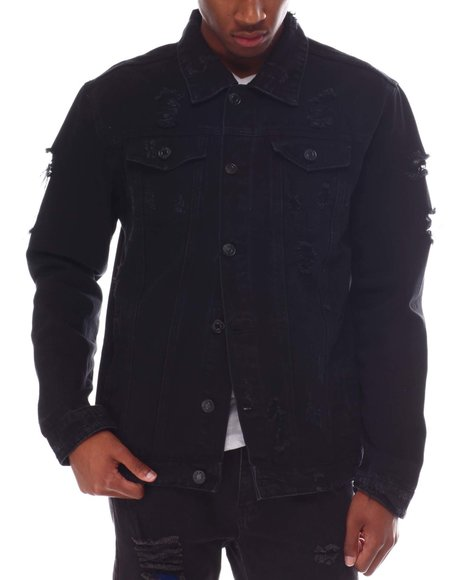 Buyers Picks - Distressed Denim Jacket