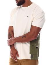 Shirts - Luca Cargo Pocket T-Shirt (B&T)-2608731
