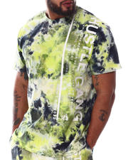 Big & Tall - Jackson Knit Tie Dye T-Shirt (B&T)-2608156