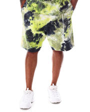 Big & Tall - Abstract Tie Dye Shorts (B&T)-2608272
