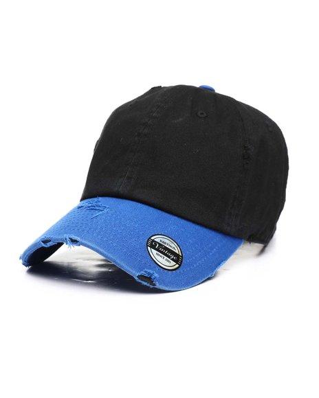 Buyers Picks - 2-Tone Vintage Distressed Baseball Cap