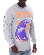 Pink Dolphin - WAVE SPORT PERFORMANCE L/S TEE-2608404