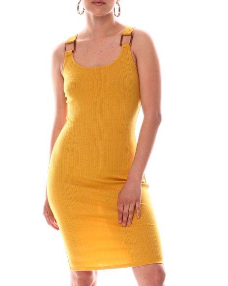 Fashion Lab - Buckle Midi Dress