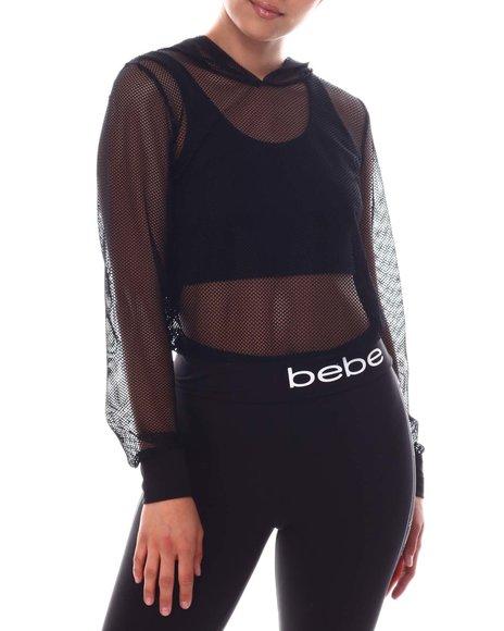 Bebe - Mesh Pullover