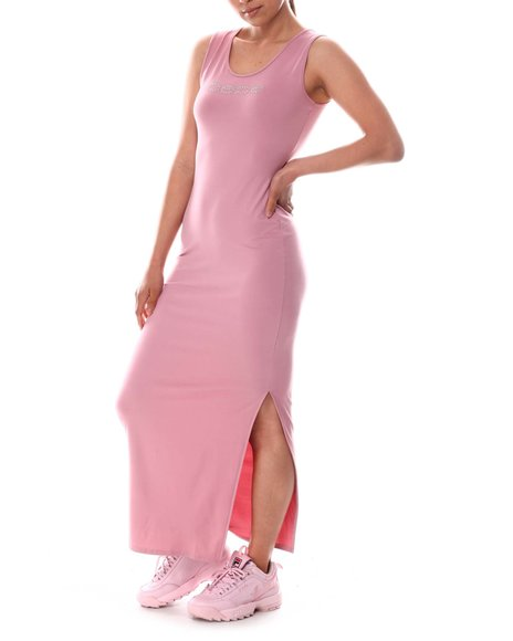 Bebe - Maxi Dress with Slit Side