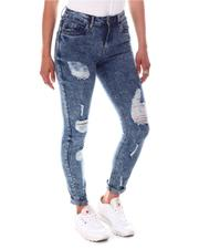 Jeans - High Waist Ripped Detail Jeans-2586763