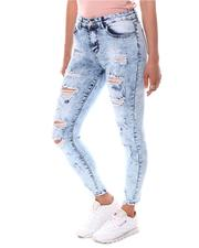 Jeans - Distressed Acid Wash Jeans-2597587