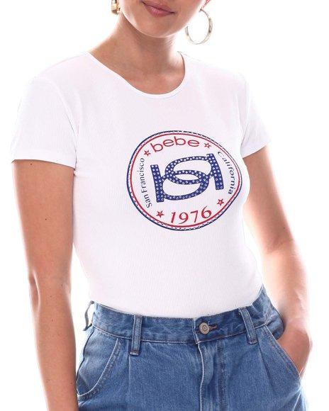 Bebe - Rib Heritage T-Shirt