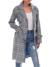 Women - NVL Plaid Trench-2604381