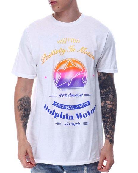 Pink Dolphin - ORIGINAL PARTS TEE