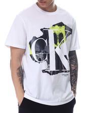 Calvin Klein - SS MULTI CITYSCAPE CREW-2608961