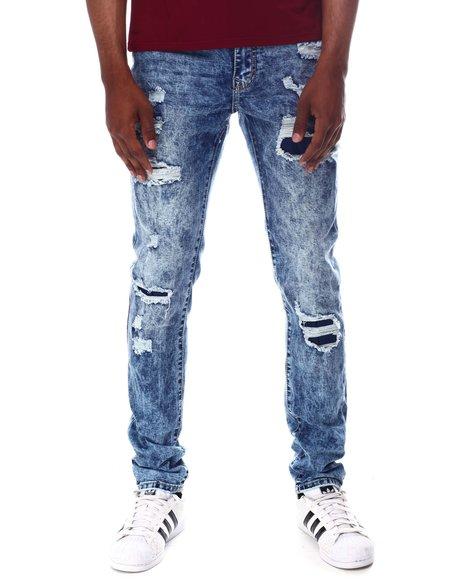 Rutherford - NICHOLSEN Rip and Repair Skinny Jean