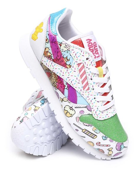 Reebok - Candy Land Classic Leather Jr. Sneakers (4-7)