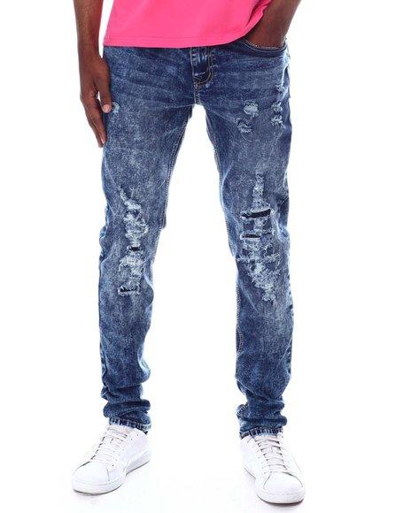 Rutherford - Finbar Skinny fit rip and repair jean