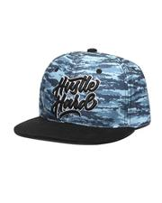 Hats - Hustle Hard Snapback Hat-2611119