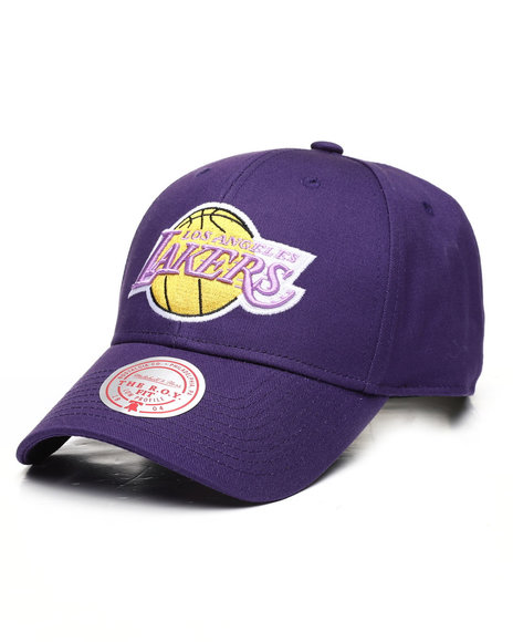 Mitchell & Ness - Los Angeles Lakers Prime Roy Velcro Strapback Hat