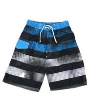 Swimwear - Stripe Tie Waist Swim Trunks (8-18)-2613560