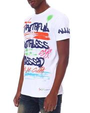 SWITCH - Graffiti  BLESSED Tee-2612021
