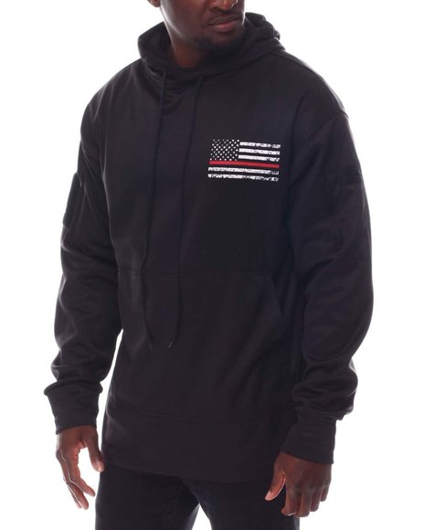 Rothco - Rothco Thin Red Line Concealed Carry Hoodie