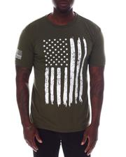 Rothco - Rothco Distressed US Flag Athletic Fit T-Shirt-2612856