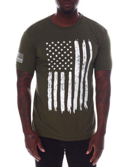 Rothco - Rothco Distressed US Flag Athletic Fit T-Shirt