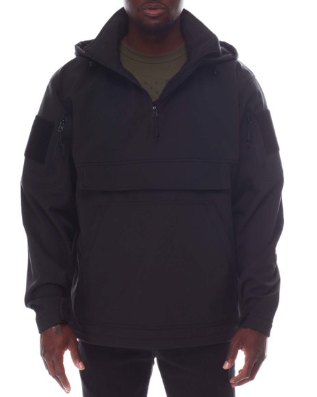 Rothco - Rothco Concealed Carry Soft Shell Anorak - Black
