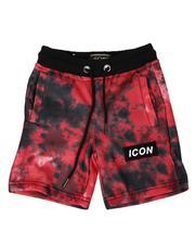 Shorts - Icon Tie Dye Fleece Shorts (4-7)-2613622
