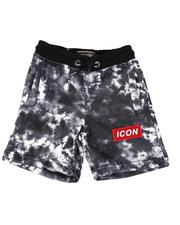 Bottoms - Icon Tie Dye Fleece Shorts (4-7)-2613627