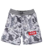 Shorts - Icon Tie Dye Fleece Shorts (4-7)-2613632