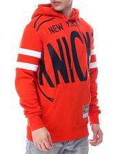 Mitchell & Ness - NEW YORK KNICKS Substantial Fleece Hoodie-2614445