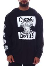 Crooks & Castles - Klepto Medusa Long Sleeve T-Shirt (B&T)-2613010