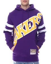 Mitchell & Ness - LOS ANGELES LAKERS Substantial Fleece Hoodie-2614450