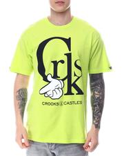 Crooks & Castles - CRKS AIRGUN LOGO TEE-2613128