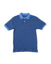 Short-Sleeve - Stripe Polo Shirt (8-20)-2613637