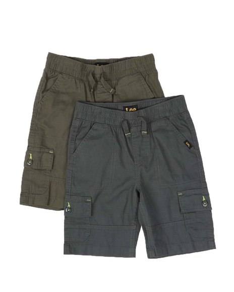 Lee - 2 Pack Cargo Shorts (4-7)