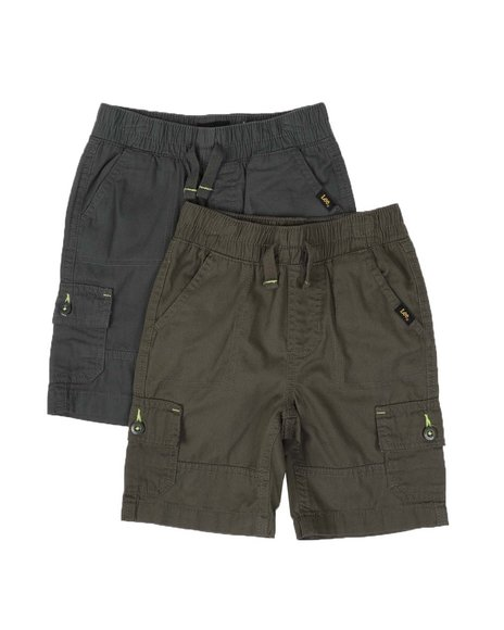 Lee - 2 Pack Cargo Shorts (2T-4T)