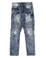 Arcade Styles - Moto Stretch Jeans (8-18)-2613545