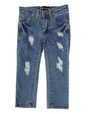 Akademiks - Rip & Repair Jeans (2T-4T)-2613877