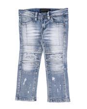 Jeans - Destructed Moto Jeans (2T-4T)-2613887