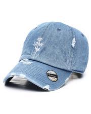 Fashion Lab - Love Rose Vintage Dad Hat-2615319