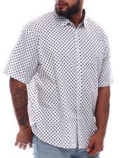Button-downs - Printed Short Sleeve Woven Shirt (B&T)-2615514