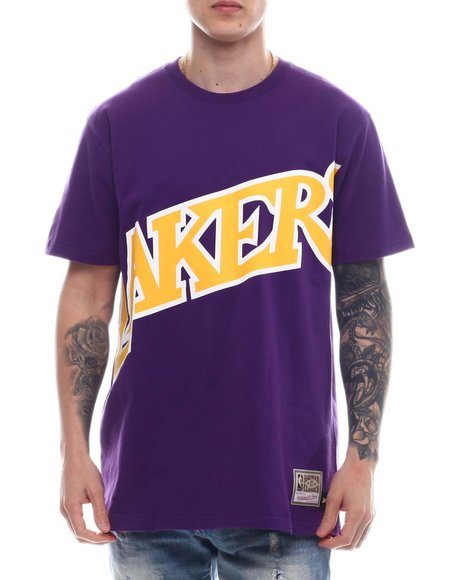 Mitchell & Ness - LOS ANGELES LAKERS Big Face 2.0 SS Tee