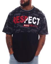 Akademiks - Respect Color Block T-Shirt (B&T)-2615862