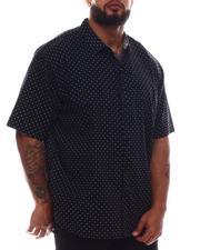 Button-downs - Printed Short Sleeve Woven Shirt (B&T)-2615612