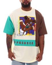 Makobi - Stay Focused Bear T-Shirt (B&T)-2615357