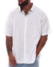 Button-downs - Printed Short Sleeve Woven Shirt (B&T)-2615669