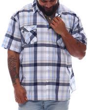 Button-downs - Plaid Short Sleeve Woven Shirt (B&T)-2615685